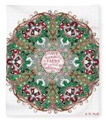 Have Yourself A Faery Little Christmas Fleece Blanket