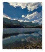 Haviland Lake Fleece Blanket
