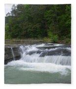 Haw Creek Falls Fleece Blanket
