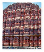 Hawa Mahal Fleece Blanket