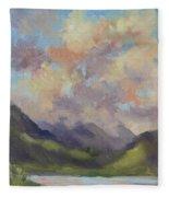 Hawaii Sunrise Fleece Blanket