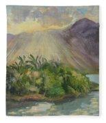Hawaii Sunset Fleece Blanket