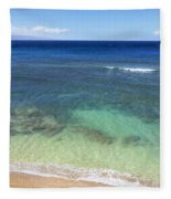 Hawaiian Ocean Fleece Blanket