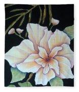 Hawaiian Pua Fleece Blanket