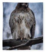 Hawk Red Tailed Fleece Blanket
