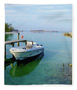 Hawks Nest Marina Fleece Blanket