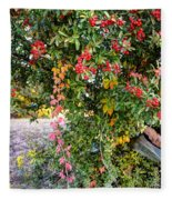 Hawthorn Berry Fleece Blanket