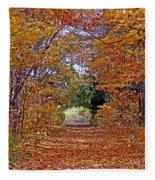 Hawthorn Hollow Fleece Blanket