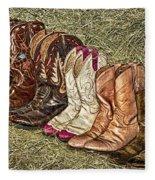 Boot Stomp Fleece Blanket