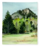 Haystack Mountain Castle Hill Me Fleece Blanket