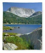 Haystack Mountain Fleece Blanket