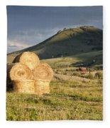 Haystack Fleece Blanket