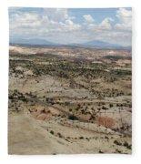 Head Of The Rocks Overlook - Utah's Scenic Byway 12 Fleece Blanket