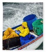 Heading Out To Sea  Fleece Blanket