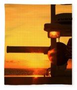 Heading Towards The Sun By Diana Sainz Fleece Blanket