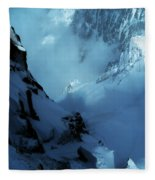 Headwall Mount Blanc Fleece Blanket
