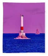 Headwater Lights 2 Fleece Blanket