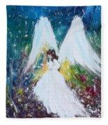 Healing Angel 2 Fleece Blanket