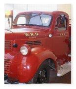 Hearst Fire Truck Fleece Blanket