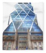 Hearst Tower - Manhattan - New York City Fleece Blanket