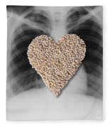 Heart Healthy Food Fleece Blanket