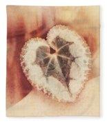 Heart Of Nature Fleece Blanket