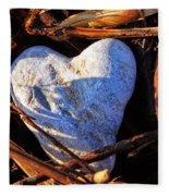 Heart Of Stone Fleece Blanket