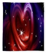 Heart Of The Matter Fleece Blanket