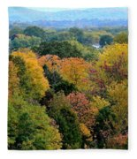 Heart Of The Ozarks Fleece Blanket
