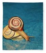 Heart Snails Fleece Blanket