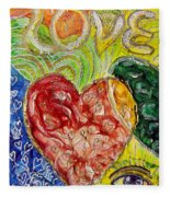 Heart To Heart G Fleece Blanket