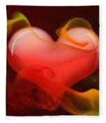 Heartbeat 4 Fleece Blanket