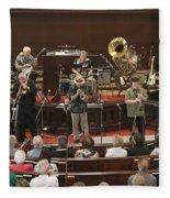 Heartbeat Dixieland Jazz Band Fleece Blanket