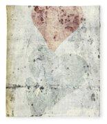 Hearts 2 Fleece Blanket