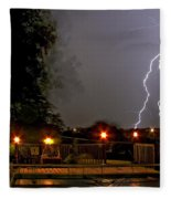 Heat Of The Night Fleece Blanket