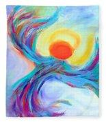 Heaven Sent Digital Art Painting Fleece Blanket