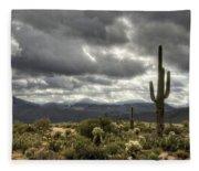 Heavenly Desert Skies  Fleece Blanket