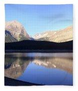 Heavenly Hike - Kananaskis Lakes, Alberta Fleece Blanket