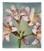 Heavenly Lilies Fleece Blanket