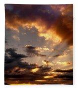 Heavenly Rapture Fleece Blanket