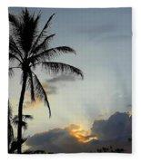 Heavenly Rays Fleece Blanket