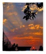 Heavenly Rays Two Fleece Blanket