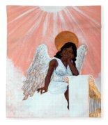 Heavenly Soul Fleece Blanket