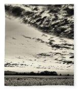 Heavenly Summer Sky Fleece Blanket