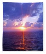 Heavenly Sunset Fleece Blanket