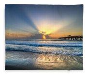 Heaven's Door Fleece Blanket