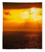 Heaven's Glow Fleece Blanket