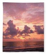 Heavens Glow Fleece Blanket