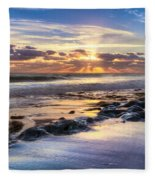 Heaven's Lights Fleece Blanket