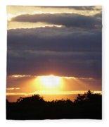 Heaven's Rays 3 Fleece Blanket